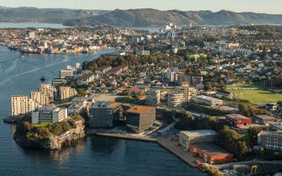 Hvor langt er det egentlig fra næringslokalene i Byfjordparken til Stavanger sentrum?